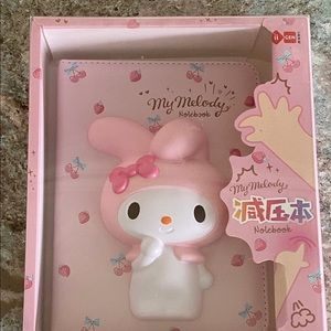 Sanrio My melody squish cover notebook diary